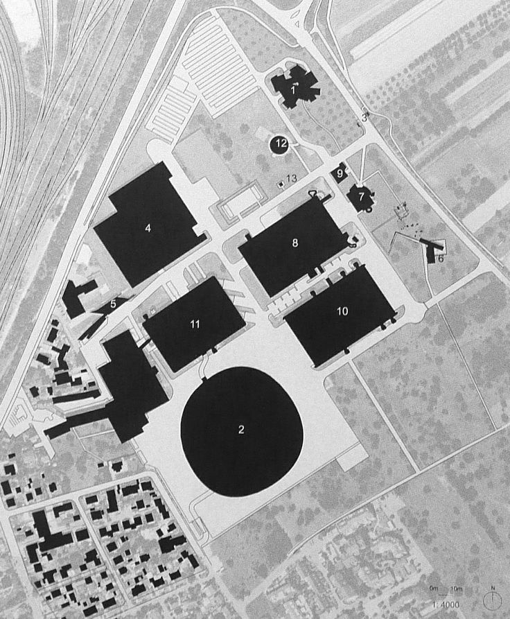 Vitra campus map