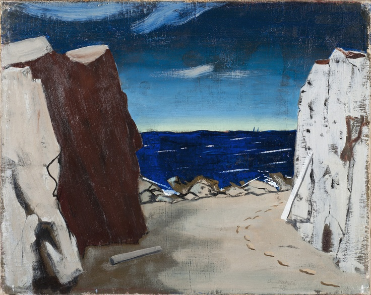 Otto Mäkilä: The Sea, 1938
