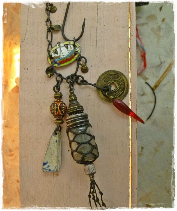 Blow the Candle Out Necklace by readbetweenlines on Etsy, $68.00