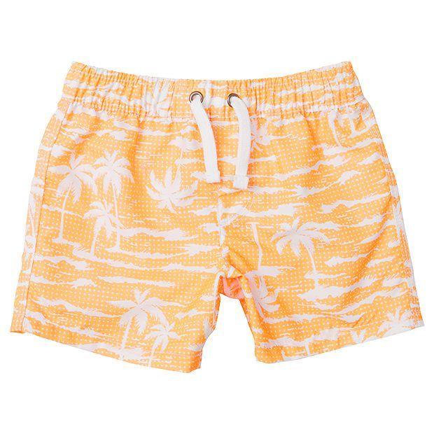 Baby Palm Print Boardshorts