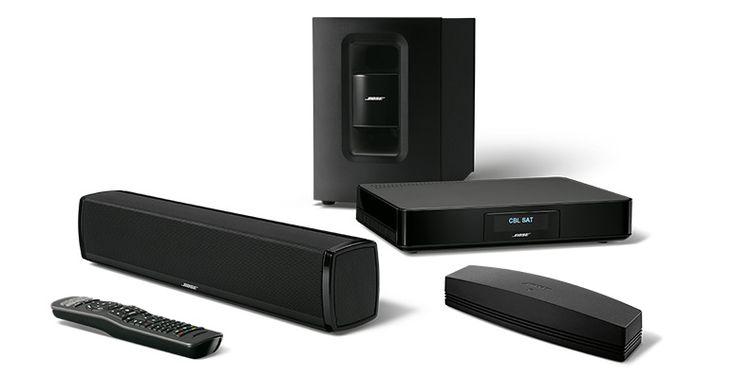 Image of Bose SoundTouch 120 Home Cinema System in Black
