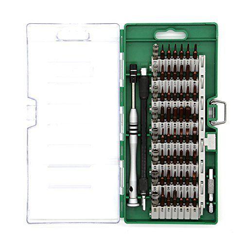 58en 1Jeu de tournevis, e-durable Kit de tournevis de précision réparation outils pour PC/ordinateur portable/tablette/PDA/téléphone…