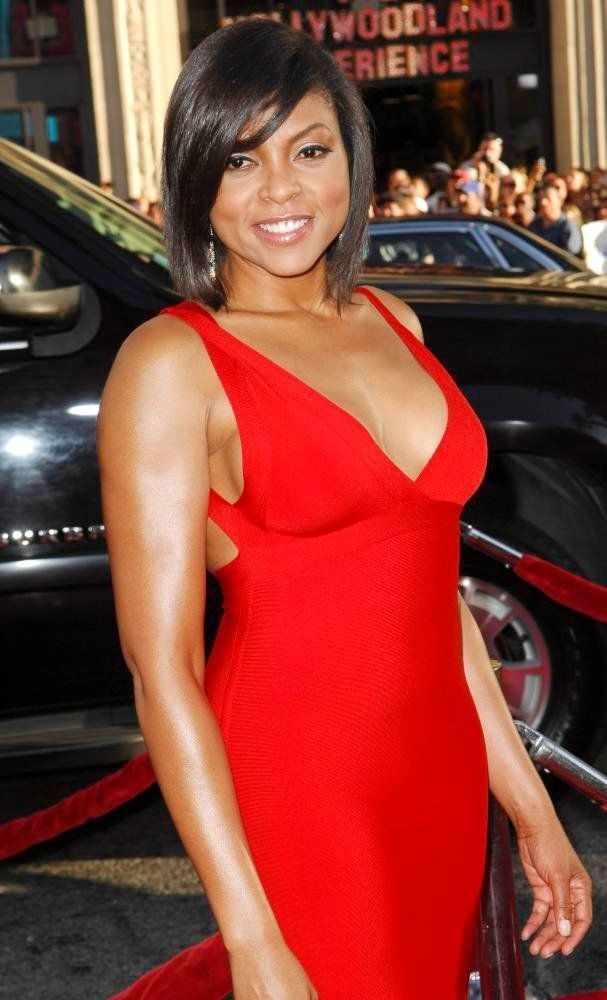Taraji p henson red dress 3d