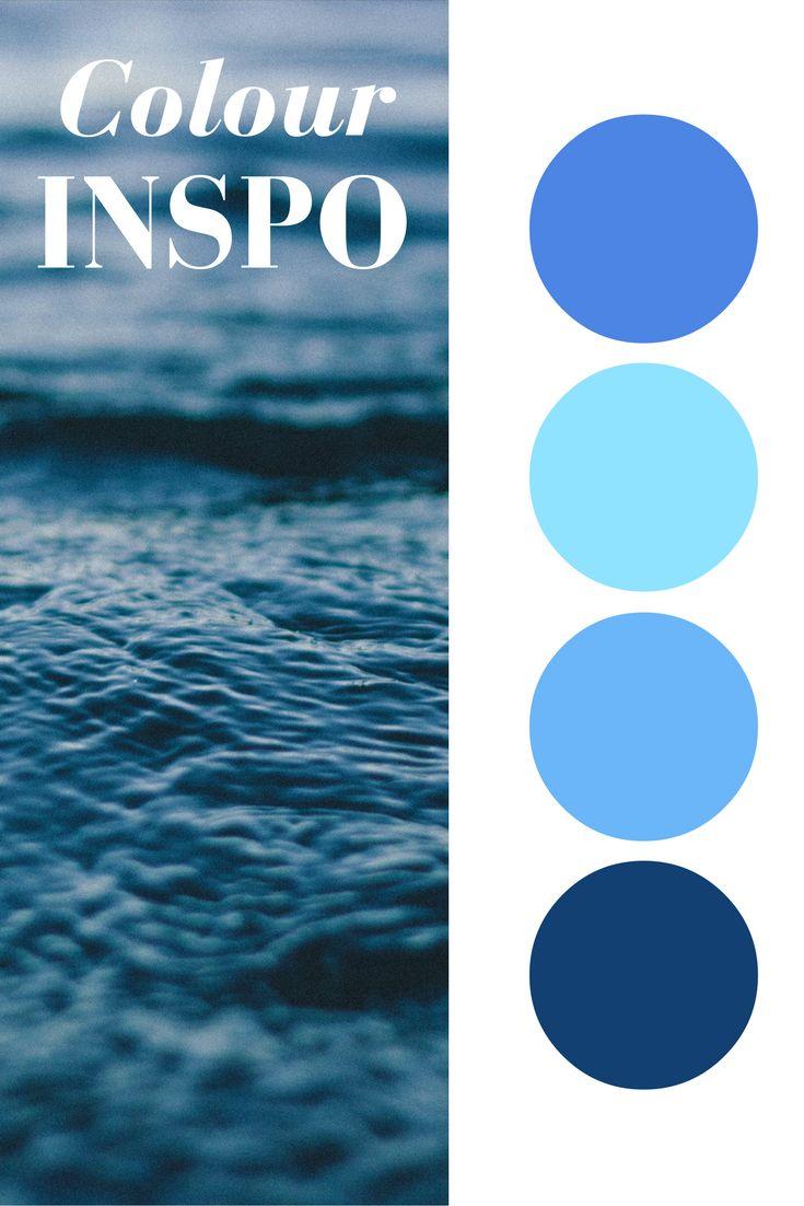 Ocean Colour Inspo. Fall in love with the colours of the sea.   www.miglio.com