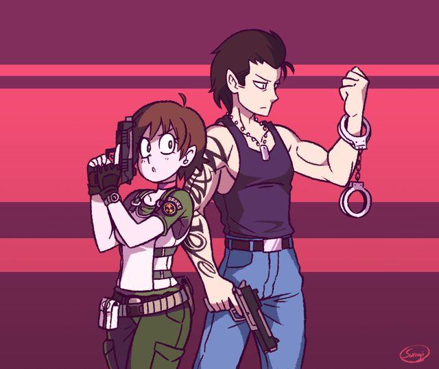 Rebecca Chambers & Billy Coen   Resident Evil 0   ❤