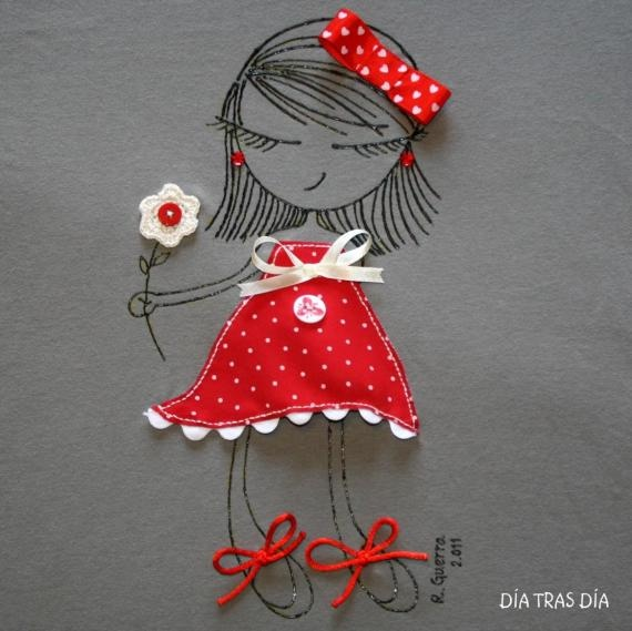 Embroidery/fabric picture