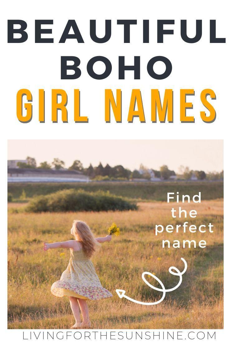 Gorgeous Indie Boho Names For Girls Hippie Girl Names Rare Baby Girl Names Cool Baby Names