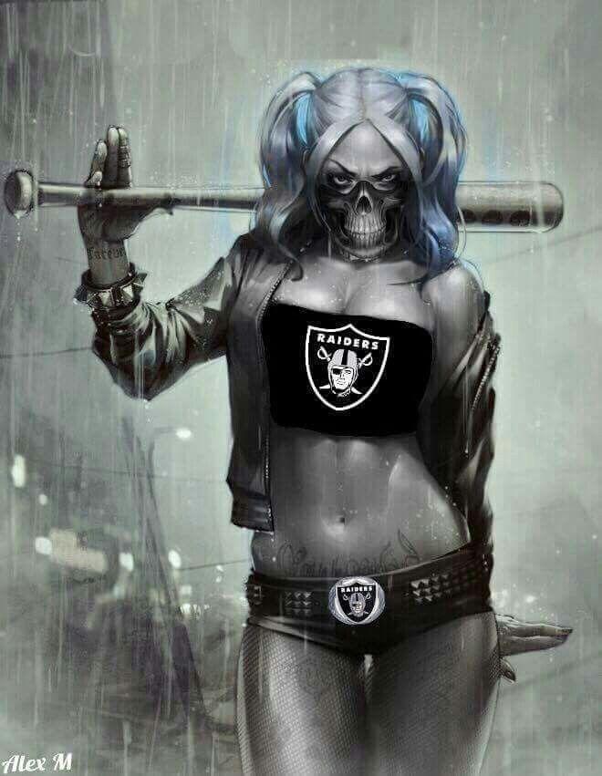 Okland Raiders- Harley Quinn