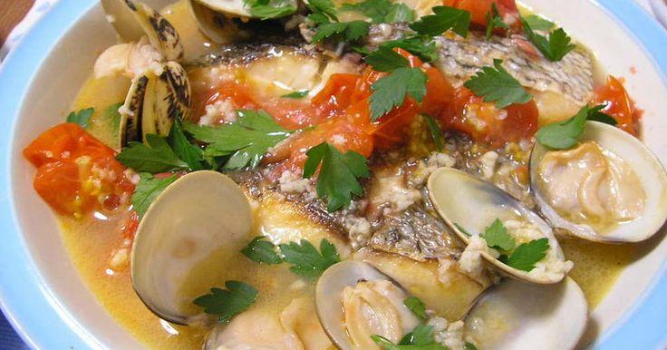 切り身魚で簡単アクアパッツア♪ by nimorecipe [クックパッド] 簡単おいしいみんなのレシピが235万品