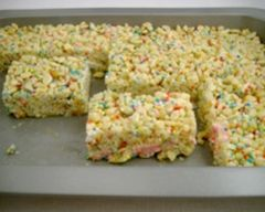 Homemade Rice Puff Bars Recipe - Kids food