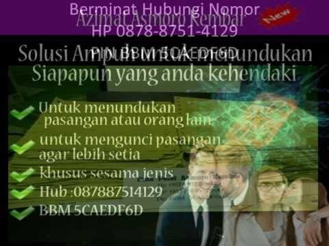 Hub HP 0878-8751-4129 | testimoni asmoro kembar| ajian pelet untuk sesam...