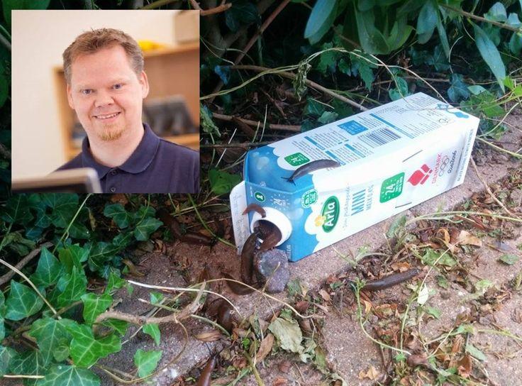 Danske Michael Christian Petersens (40) sneglefelle koster bare 40 øre. Nå har den blitt en Facebook-hit.