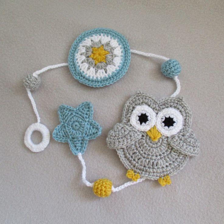 Les 368 meilleures images propos de crochet sur for Guirlande pour chambre bebe