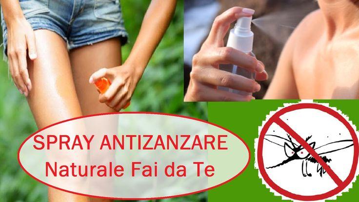 Spray Antizanzare Naturale Fai da Te - Facile!