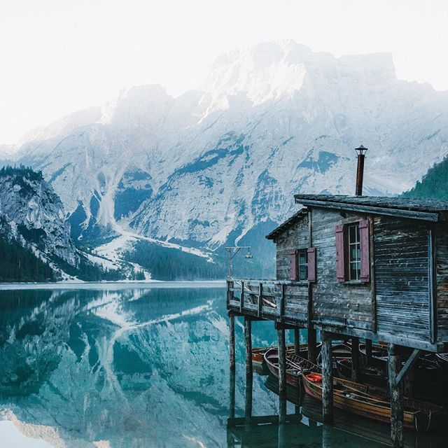Enjoying sunrise at the lake of all lakes     #Regram via @jackharding