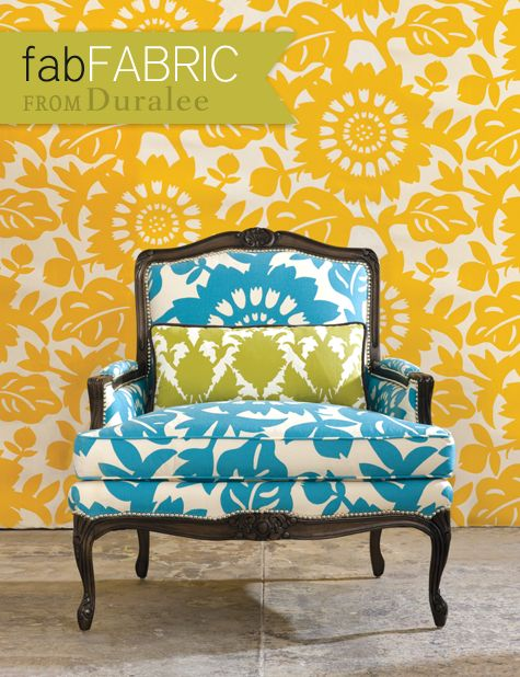 Awesome Pattern: Colors Patterns, Chairs Fabrics, Bold Prints, Thomas Paul, Antiques Chairs, Blue Chairs, Design Studios, Paul Fabrics, Bright Colors