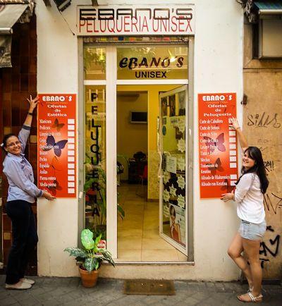 carteles de salon de belleza - spanishalibabacom