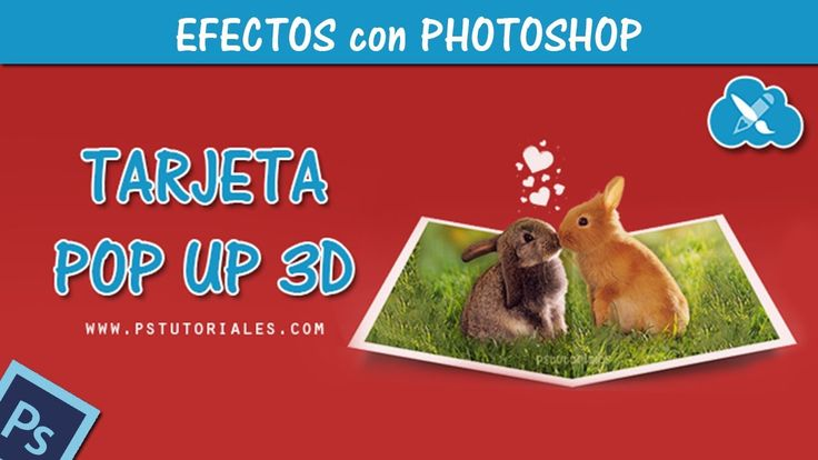 Tarjeta Pop Up 3D - Photoshop Tutorial