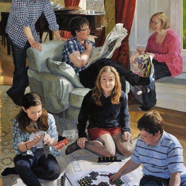 Alastair Adams 'Salzedo Painting'