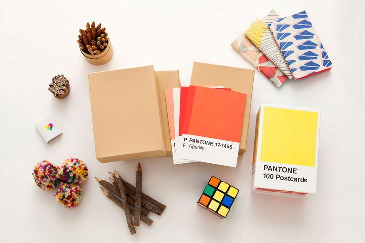 Make This DIY Pantone Advent Calendar in Under 5 Minutes via Brit + Co.