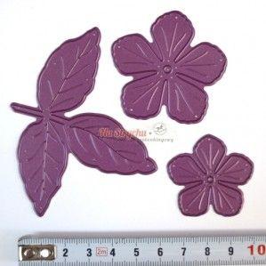 Wykrojnik - Cheery Lynn - Judy's Blooms C184 kwiaty i liście