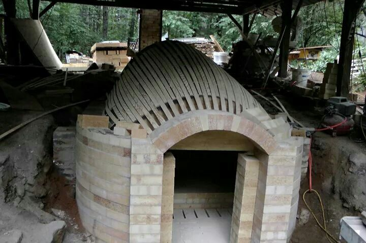 how to build a small wood kiln for pottery