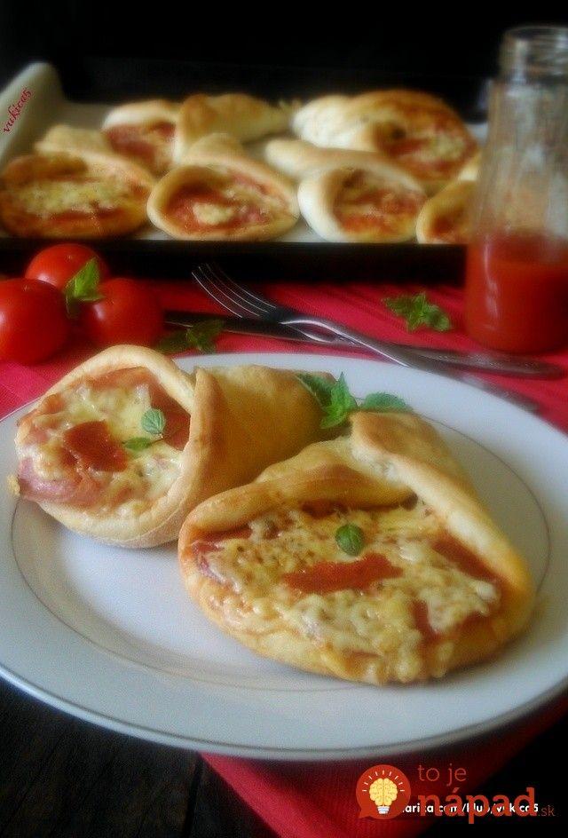 Křupavé pizza kornoutky plněné šunkou a sýrem.....http://tojenapad.dobrenoviny.sk/chrumkave-pizza-kornutky-plnene-sunkou-syrom/
