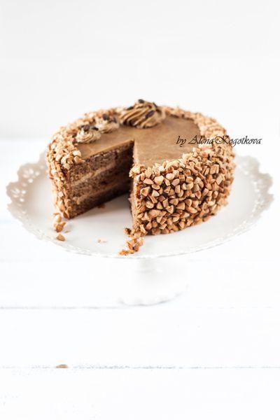 Изысканный и воздушный - торт Мокка с 3 видами крема и кофейным сиропом