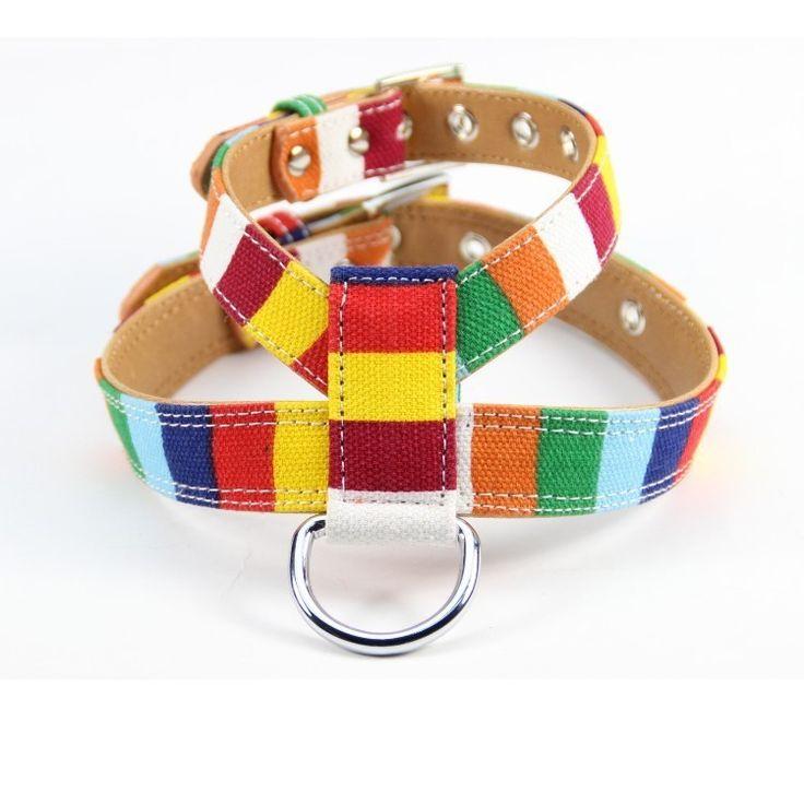 Nueva Llegada del perro Mascota de accesorios de Tela Pu de Cuero colorida Del Animal Doméstico Del arnés del Perro en Etiquetas de IDENTIFICACIÓN de Hogar y Jardín en AliExpress.com | Alibaba Group