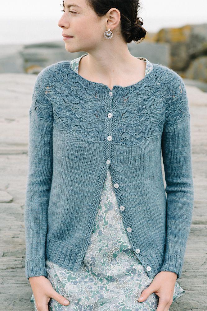Sibella Cardigan, knitting pattern on Ravelry