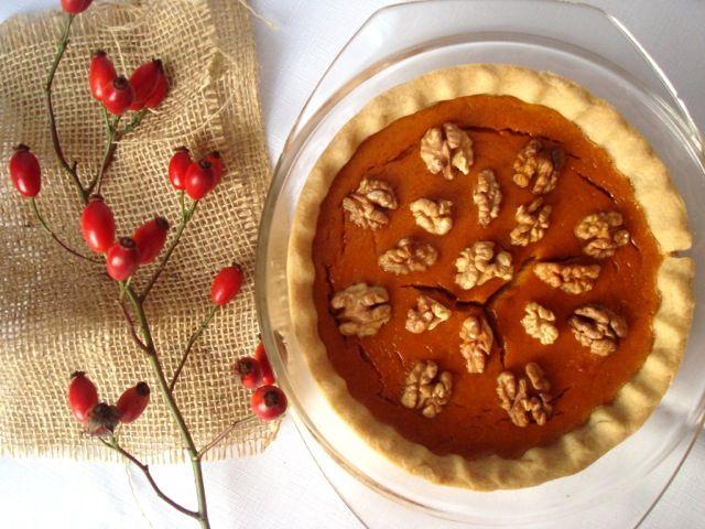 Dýňový koláč | Pumpkin Pie - www.vune-vanilky.cz