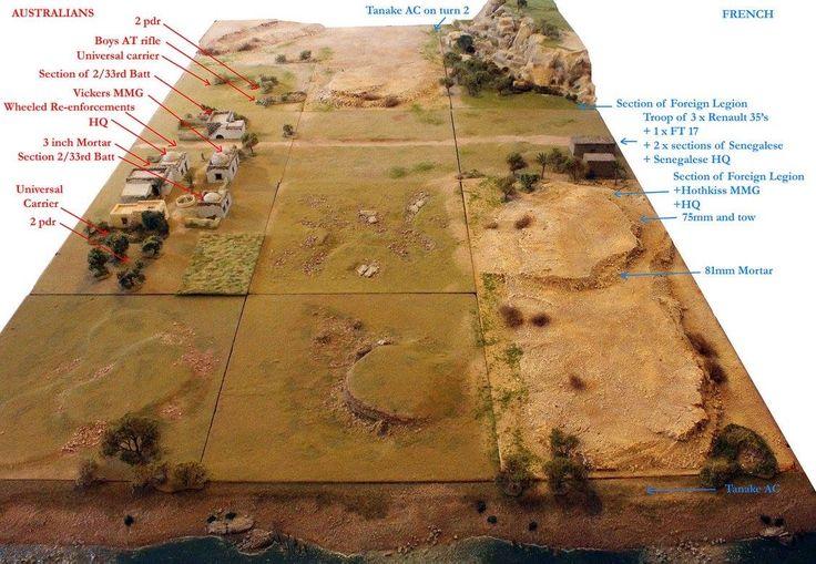 Desert terrain board project by richard lloyd wargaming