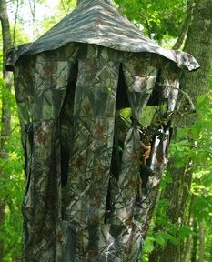 concealment for tree stands