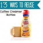13 Perfectly Useful Ways To Reuse Coffee Creamer Bottles