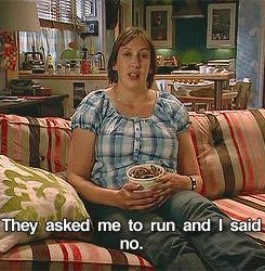 3. Though don't feel you must run... || Miranda Final Episode: [8 things we've learned from the BBC1 sitcom]