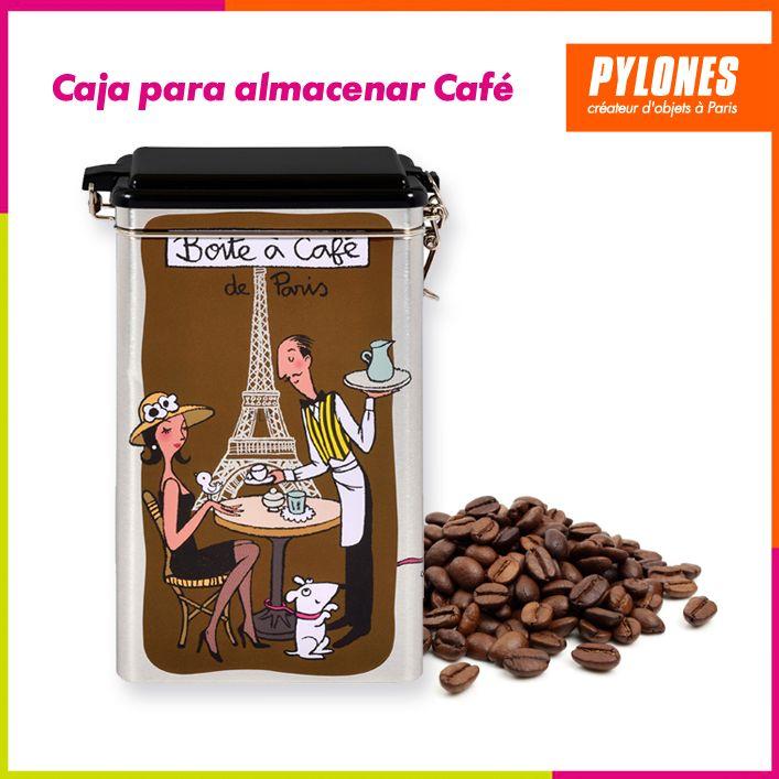 Caja para almacenar café #Hogar #Casa #Color