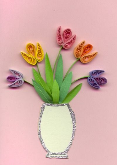 Card Craft:- Quilling Supplies, Quilling Papers, Tools, Kits, Ideas, Directions, Instructions