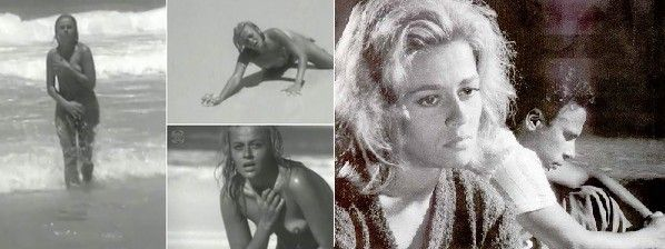 """Norma Bengell fez o primeiro nu frontal da história do cinema brasileiro em 'Os cafajestes'. """"Ficar nua é superdifícil"""", disse a atriz certa vez (Foto: Reprodução)"""