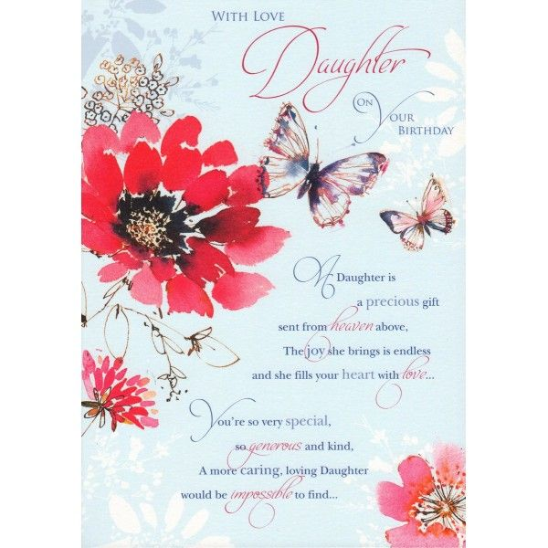 The 25 best Birthday wishes daughter ideas – Greeting Words for Birthday Wishes