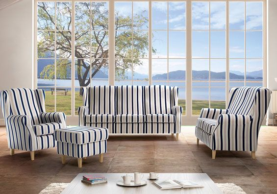 14 best maritime m bel images on pinterest fabric. Black Bedroom Furniture Sets. Home Design Ideas