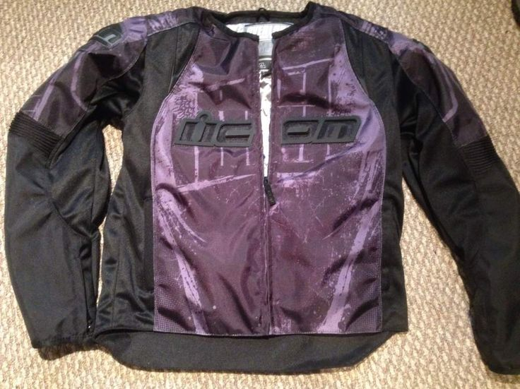 NEW Icon Overlord Type 1 Textile Men's Motorcycle Jacket