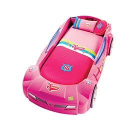 Pretty in Pink Car Bed Cover Set