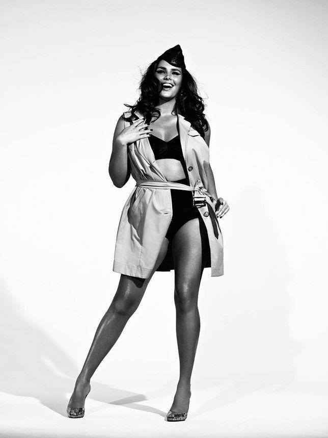 Candice Huffine: la prima modella #curvy sul calendario #Pirelli.