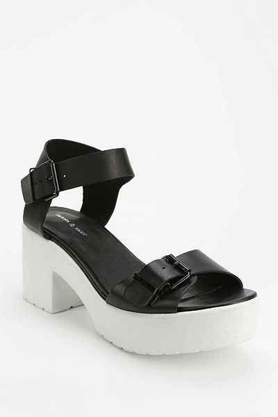 Deena & Ozzy / Quarter-Strap Platform Sandal