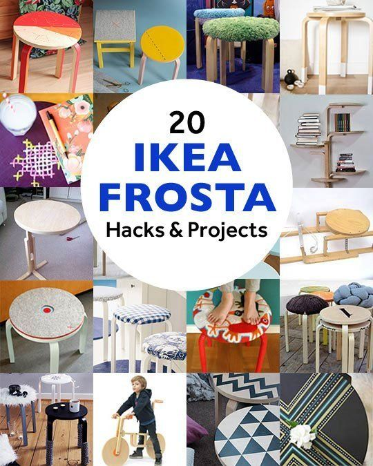 IKEA's Frosta Stool is Back!: A Retrospective of Projects & Hacks | Apartment Therapy