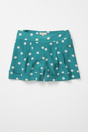 Polka dots and turquoise...these will be mine