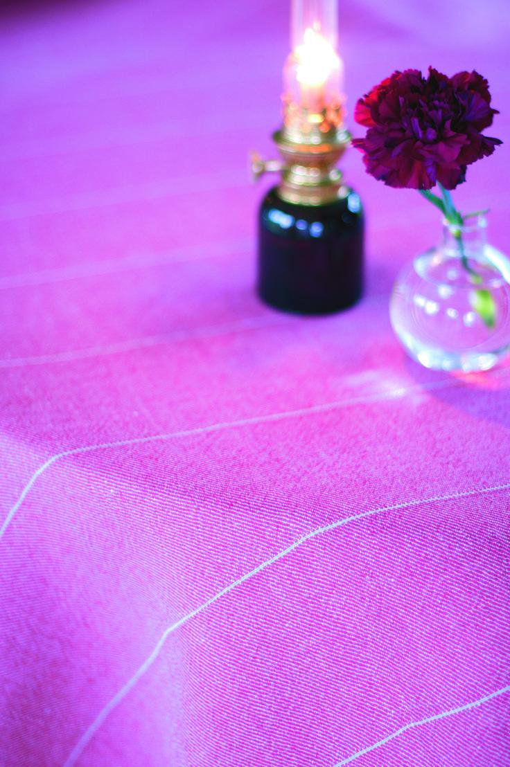 Askerön, linen tablecloth from VäxboLin. Really Made in Sweden.