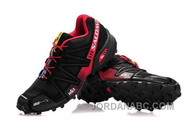 http://www.jordanabc.com/salomon-speedcross-3-cs-mens-black-maroon-for-sale.html SALOMON SPEEDCROSS 3 CS MENS BLACK MAROON FOR SALE Only $74.00 , Free Shipping!