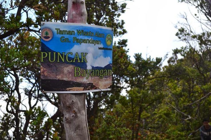 Puncak Bayangan, Mt. Papandayan