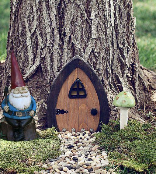 Gnome doors fairy doors faerie doors elf doors 9 inch for Fairy doors images